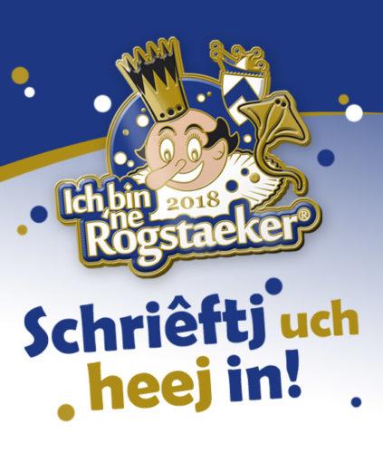 Kliktj heej um 't Aanmeldingsformeleer 'Ich bin 'ne Rogstaeker®' te downloaden