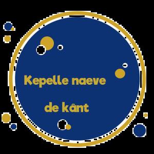 CirkelBlauwRandGoudKepelle